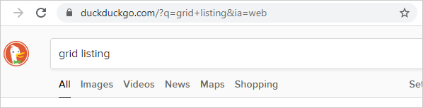 a search term entered on Mosaic automatically used on an external search service