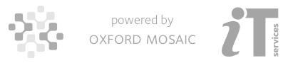 Oxford Mosaic platform branding
