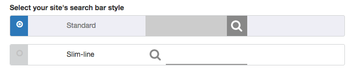 searchbar styles