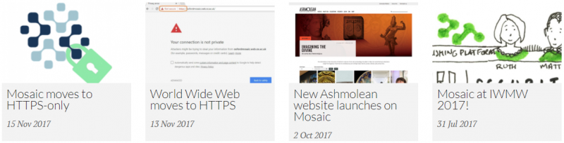 Grid listing filtered by Article content type