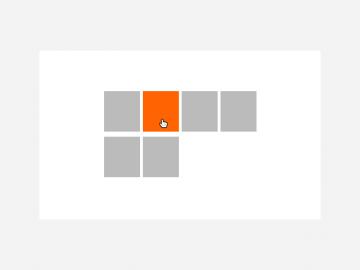 grid listing widget
